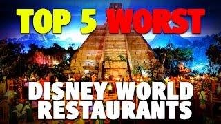 Top 5 Worst Restaurants at Disney World | DIS Unplugged Miniso…
