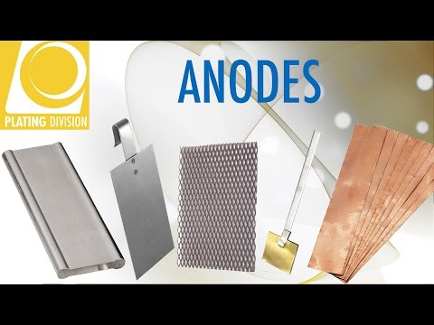 Anodes for electroplating