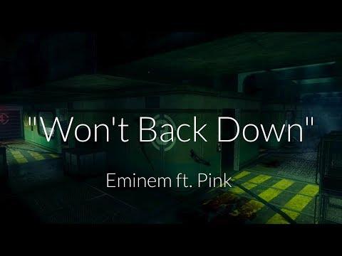 Wont Back Down Short Edit  Eminem ft Pink  Five song
