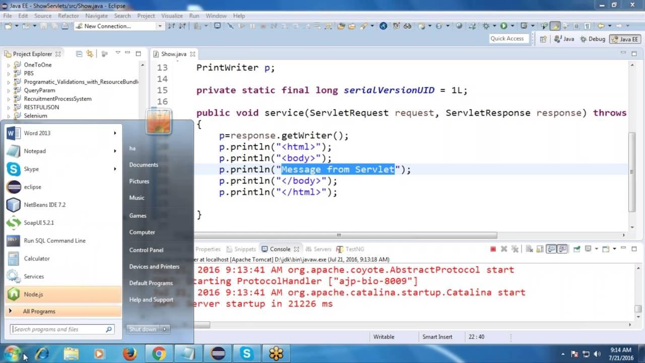Java tutorial 11servletclassprintwriterservlet life cycle java tutorial 11servletclassprintwriterservlet life cycleservletconfigdestroy method baditri Gallery
