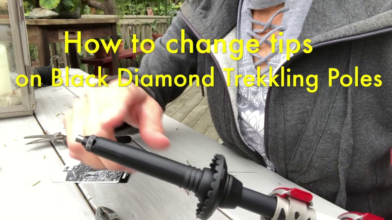 BLACK DIAMOND Trekking Pole Tip Protectors