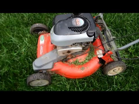 Scotts Rusted Out Running Junk Self Propelled Lawn Mower