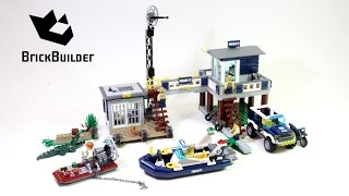 Lego City 60069 Swamp Police Station - Lego Speed Build