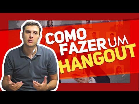 Hangouts Como Funciona? E Como Fazer um Hangout?