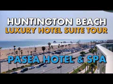 HUNTINGTON BEACH OCEANFRONT LUXURY HOTEL SUITE - Pasea Hotel & Spa