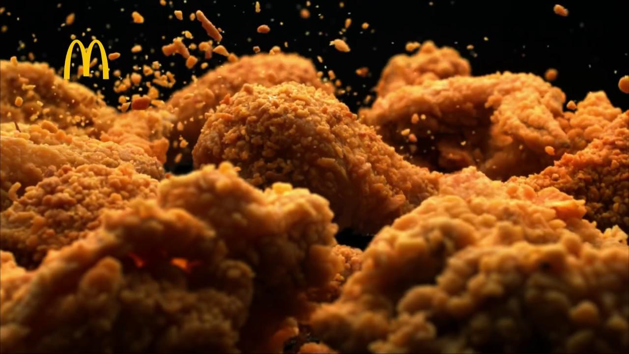 McDonald's Real Crispy Chicken - YouTube