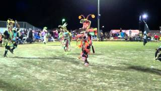 Poarch Creek pow wow 2013 - Mens Chicken Song 2