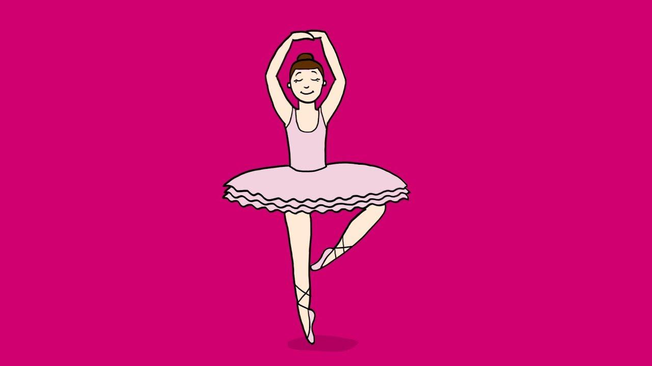 Coloriage Danseuse Salsa.Apprendre A Dessiner Une Danseuse Classique Youtube