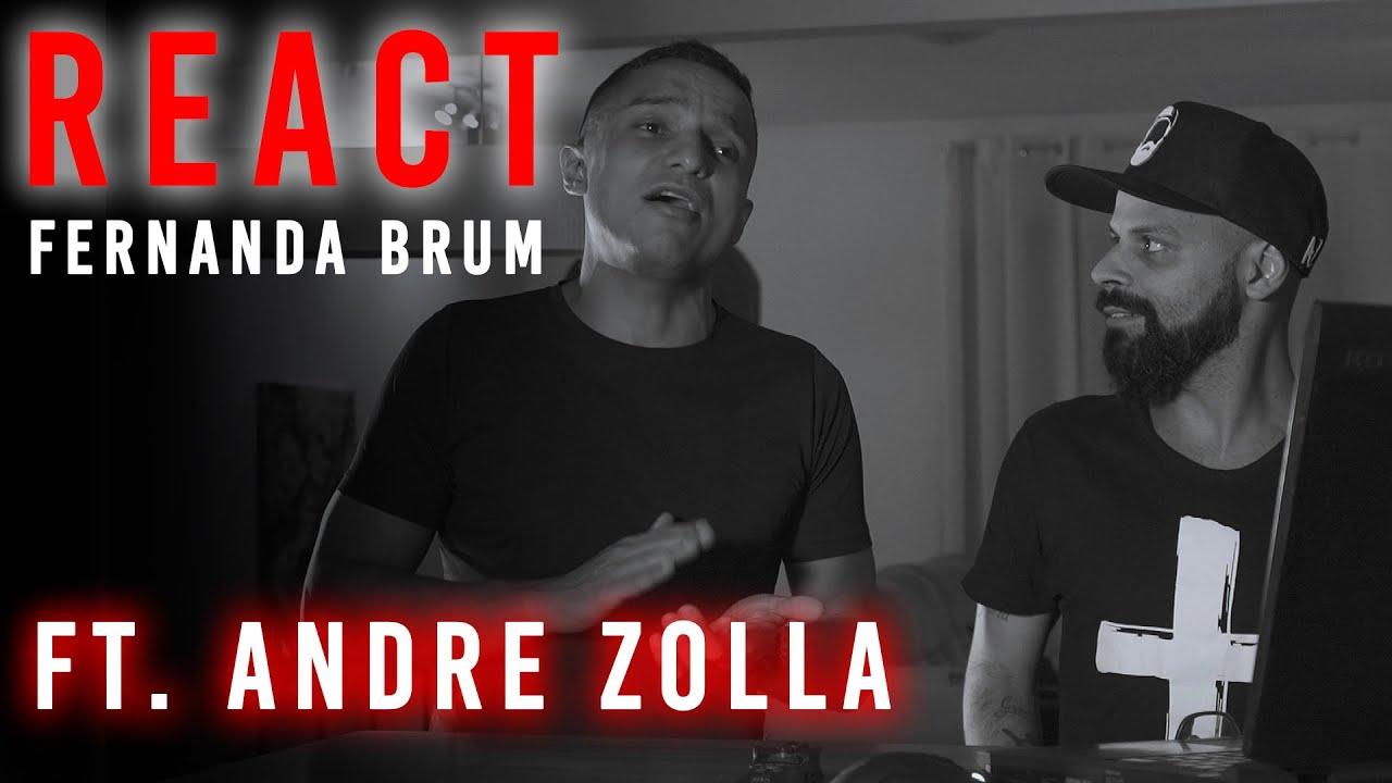 REACT Fernanda Brum - Deus me fez Vencer - Ft. André Zolla - Veja Por Outro Ângulo