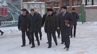 """Санаторий """"Обуховский"""" посетил глава региона"""