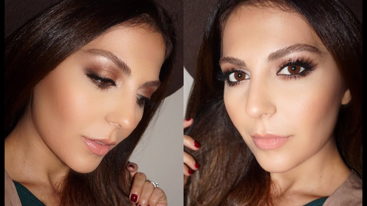 Fall Makeup Tutorial Brown Smokey Eye Charlotte Tilbury