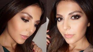 fall makeup tutorial brown smokey eye   charlotte tilbury   sona gasparian