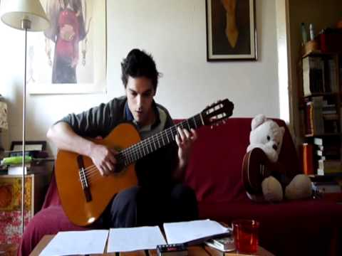 canon de pachelbell guitare classique cover youtube. Black Bedroom Furniture Sets. Home Design Ideas