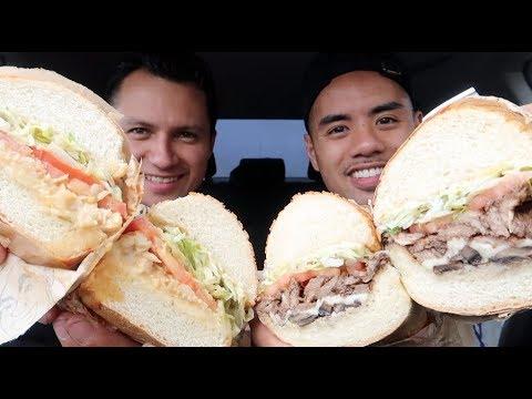 IKE'S LOVE & SANDWICHES MUKBANG! BAY AREA'S FINEST