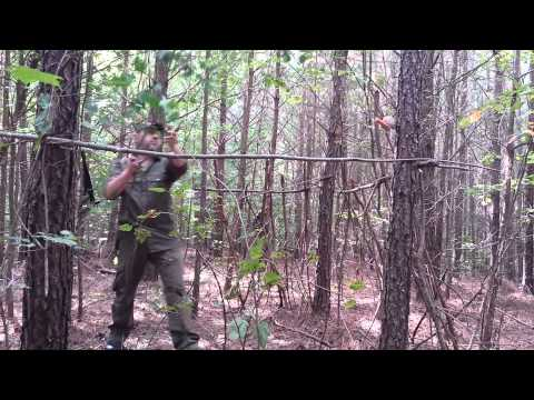 Bushcraft Deer Hunting Blind (Quick And Simple)