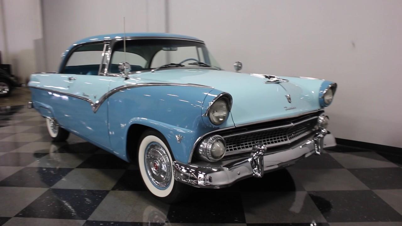 1955 Ford Fairlane History