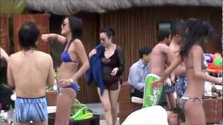DJ MDW ASIA TOUR - POOL PARTY PT 3 OF 4 (Hot Asian Girls)