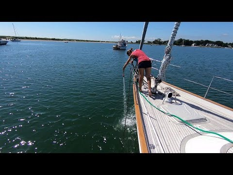Sailing Long Island NY - Shelter Island And Greenport - HR54 Cloudy Bay, Sep 2018