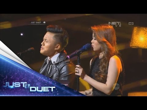 Aww so sweet! Melisa & Rizky Febian sings Saat Terakhir by ST 12! - Live Duet 05 - Just Duet