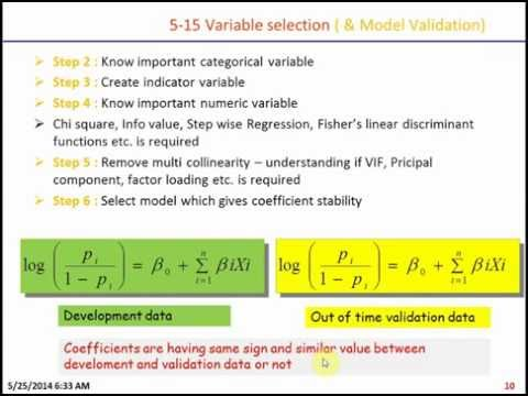 How to do Logistic Regression Modeling using SAS? What is Credit Scoring?