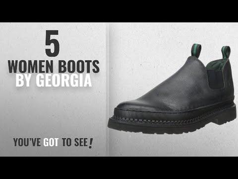 Top 10 Georgia Women Boots [2018]: Georgia Boot Men's Georgia Gr270 Giant Romeo Work Shoe Black, 11