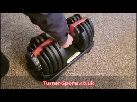 TurnerMAX Adjustable Dumbbells - Turner Sports UK