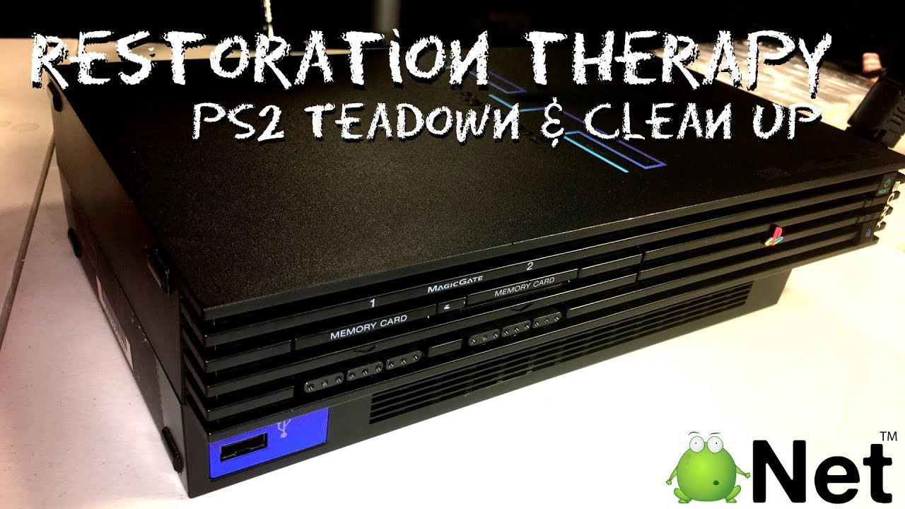 PlayStation 2 - Teardown, Cleanup, Scratch Removal