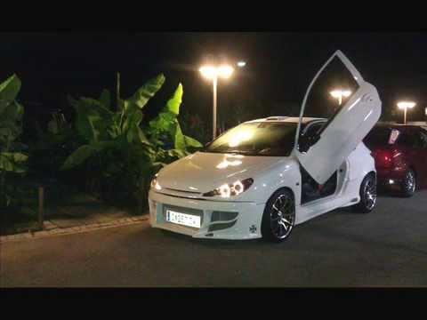 Peugeot 206 Gti S16 Tuning Projekt - YouTube