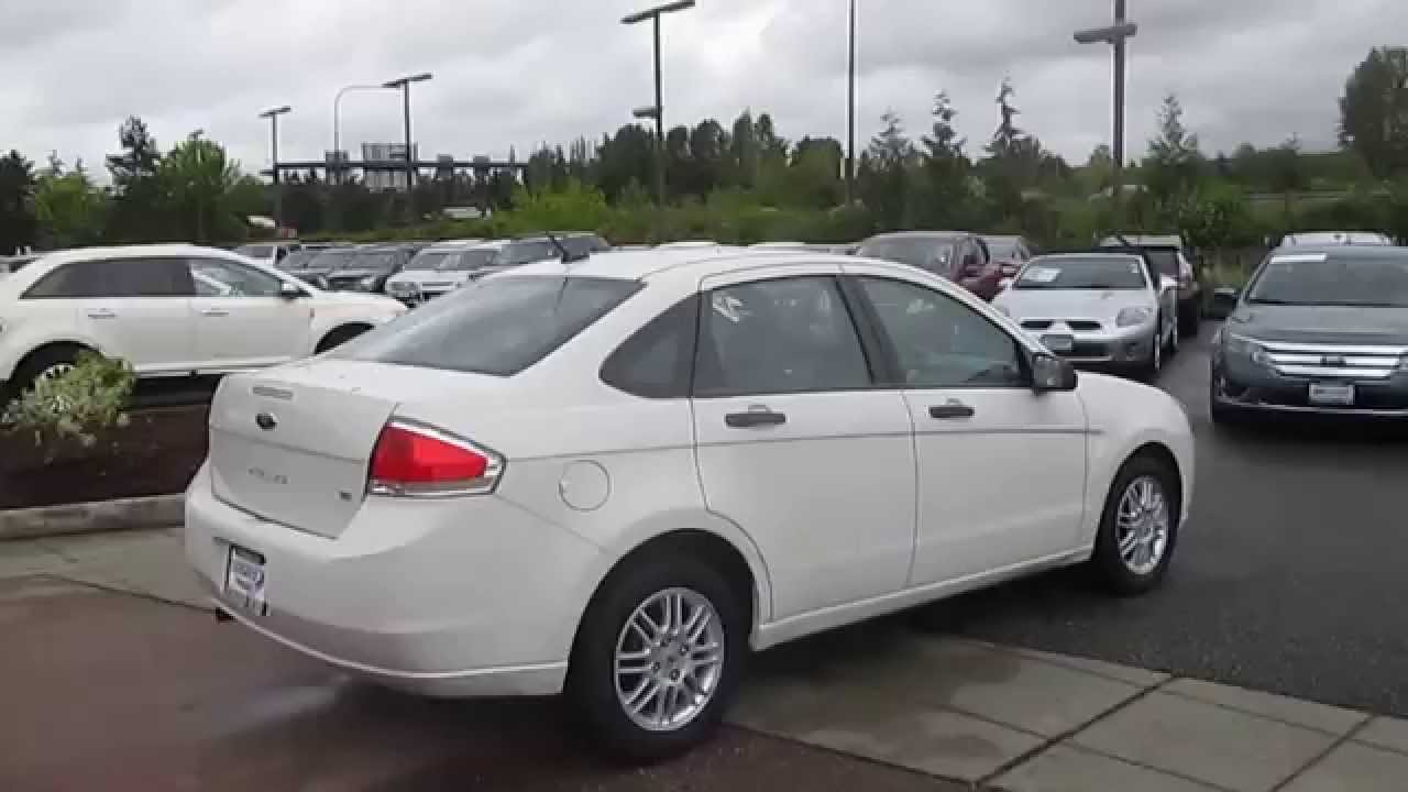 2011 Ford Focus White Suede Stock 15 1646a Walk