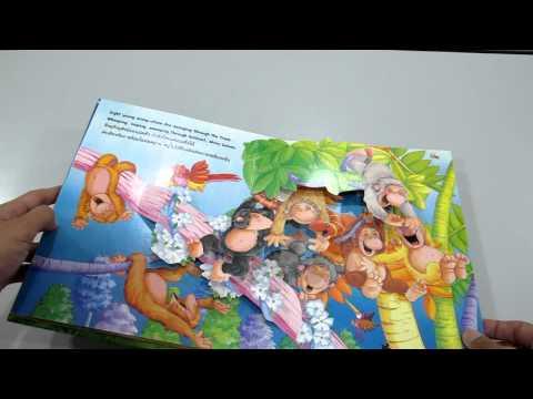 ลูกสัตว์สิบตัว หนังสือpop-up www.KidsbookThailand.com