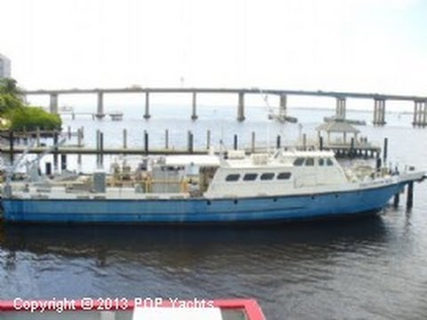 [SOLD] Used 1975 Swiftship 105 Salvage Vessel in Fort Myers, Florida