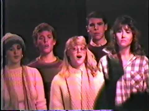 Canyon Country High School Choir Dec 1985