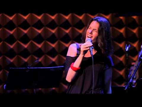 "CAROLYN LEONHART with PETER KIESEWALTER - Joni Mitchell's ""River"" - CANADA DAY 2013 at Joe's Pub/NYC"