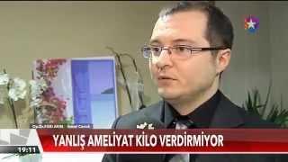 Star TV Ana Haber 11/04/2015 - Obezite cerrahisinde kimler hangi tip ameliyat? - Op. Dr. Fakı AKIN