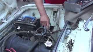 видео Замена карбюратора на ВАЗ 2101-ВАЗ 2107