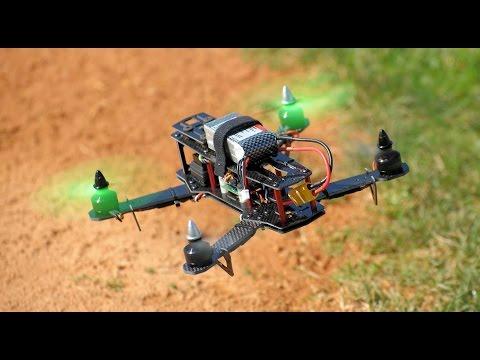 AeroSky ZMR250 Carbon Fiber Mini Quadcopter CC3D
