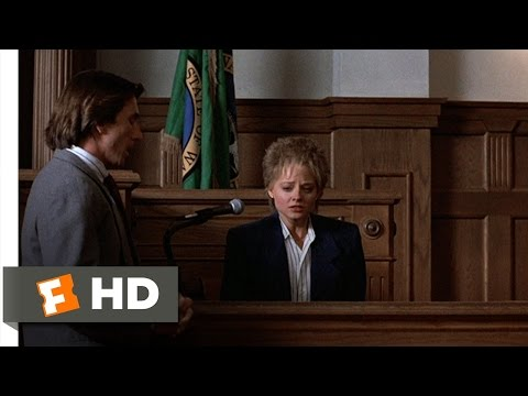 The Accused (8/9) Movie CLIP - On the Stand (1988) HD