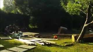 Gardenatics Stop Motion Climbing Frame Build