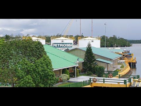 Proses Sandar Adinda Azula di Petrosea Offshore Supply Base_Part.2