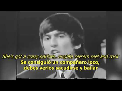 Roll over Beethoven - The Beatles (LYRICS/LETRA) [Original]