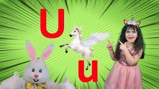 Letter U 2021 | Alphabet Song for Kids (New) | Arissa & Bunny