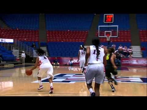 Women's Basketball Score 100 vs. Oregon Highlights