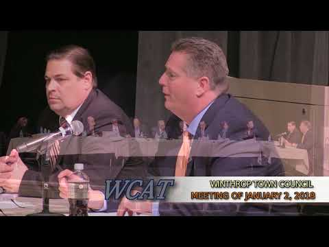 Winthrop Town Council Meeting of January 2, 2018