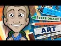 STATIONARY ART CHALLENGE! - Back to School in Style!