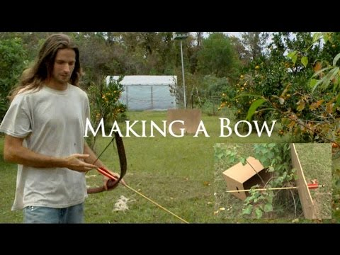 Making a Bow and Arrow - YouTube