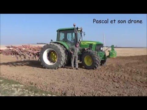 Pascal et son drone avec les Supers Agriculteurs de Charmont #1