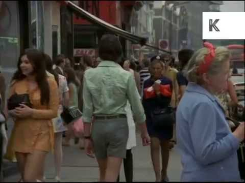 late 1960s kings road 60s london summer fashion 35mm