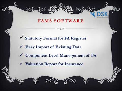 FIXED ASSETS MANAGEMENT SOLUTION