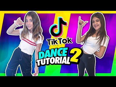 VIRAL TikTok dance TUTORIAL With My new bestie ❤️| Clementine @Roselie Arritola