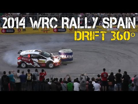 Rally Drift 2014 WRC Rally Spain | DRIFT 360º